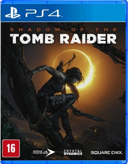 Shadow of the Tomb Raider - PS4 - Novo