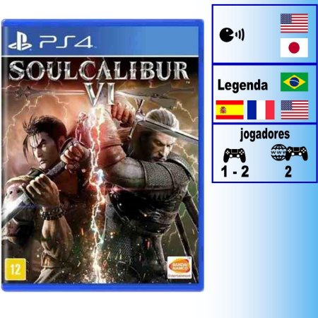 Soulcalibur VI - PS4 - Novo