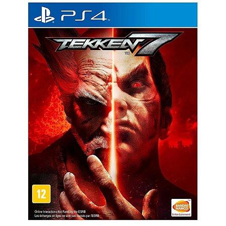 Tekken 7 - PS4 - Novo
