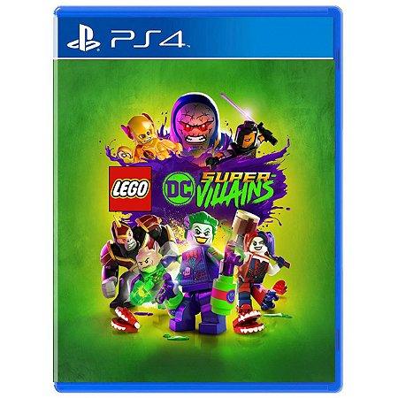 LEGO DC Super-Vilões - PS4 - Novo