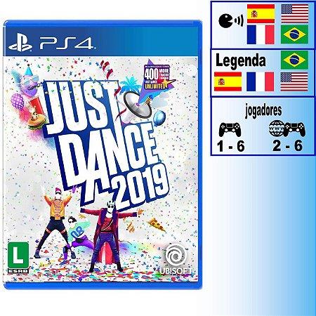 Just Dance 2019 - PS4 - Novo