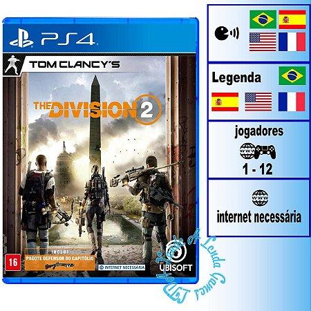 Tom Clancy's The Division 2 - PS4 - Novo