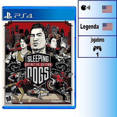 Sleeping Dogs Definitive Edition - PS4 - Novo