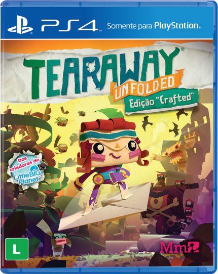 Tearaway Unfolded Edição Crafted - PS4 - Novo
