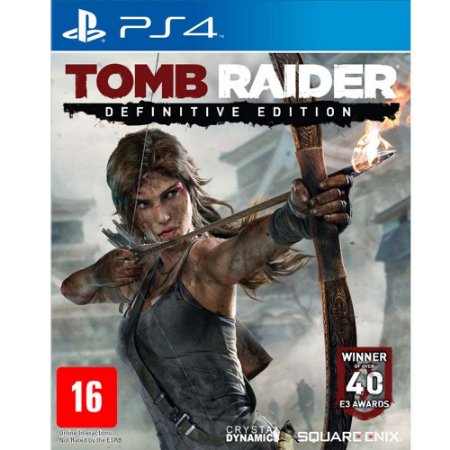 Tomb Raider Definitive Edition - PS4 - Novo
