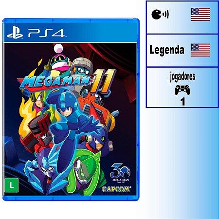 Mega Man 11 - PS4 - Novo