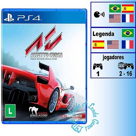 Assetto Corsa - PS4 - Novo
