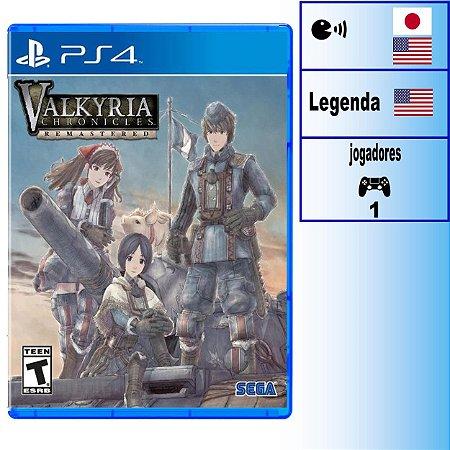 Valkyria Chronicles - PS4 - Novo