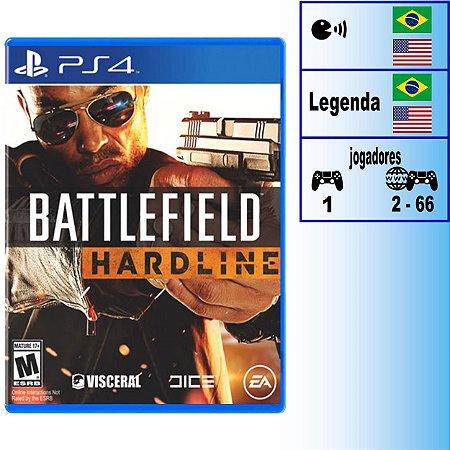 Battlefield Hardline - PS4 - Novo