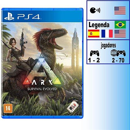 Ark Survival Evolved - PS4 - Novo