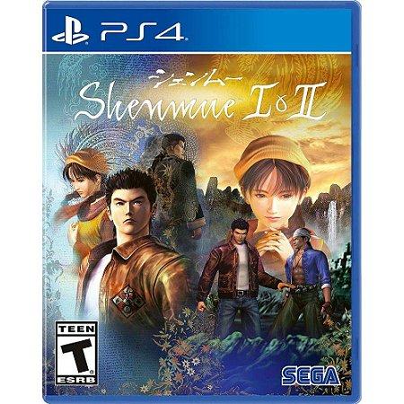 Shenmue I e II - PS4 - Novo