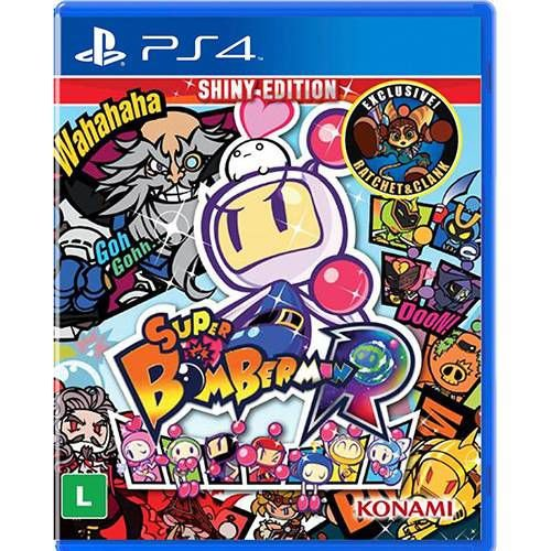 Super Bomberman R Shiny Edition - PS4 - Novo