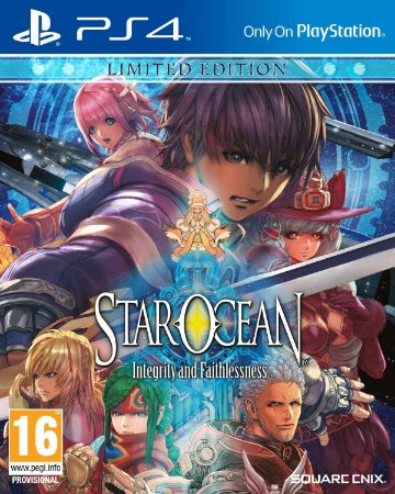 Star Ocean Integrity and Faithlessness Limited Edition Steelbook - PS4 - Novo