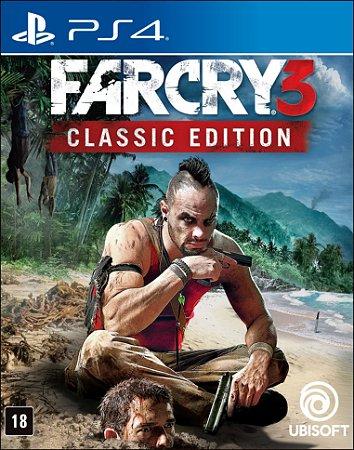 Far Cry 3 Classic Edition - PS4 - Novo