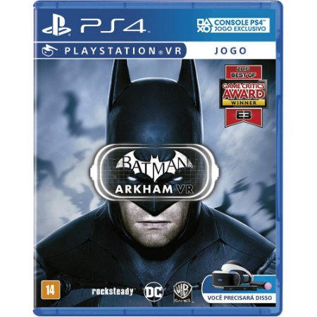 Batman Arkham VR - PS4 - Novo