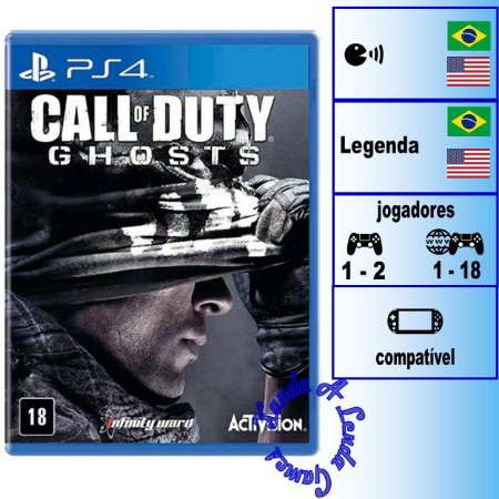 Call of Duty Ghosts - PS4 - Novo