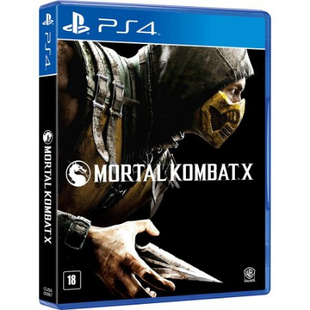 Mortal Kombat X - PS4 - Novo