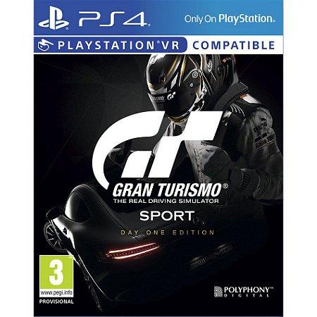 Gran Turismo Sport Day One Edition - PS4 - Novo