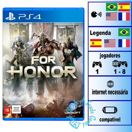 For Honor - PS4 - Novo