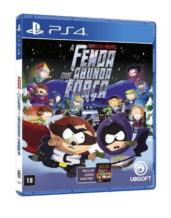 South Park A Fenda que Abunda a Força Edição Limitada - PS4 - Novo
