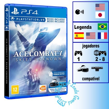Ace Combat 7: Skies Unknown - PS4 - Novo