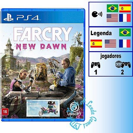 Far Cry New Dawn - PS4 - Novo