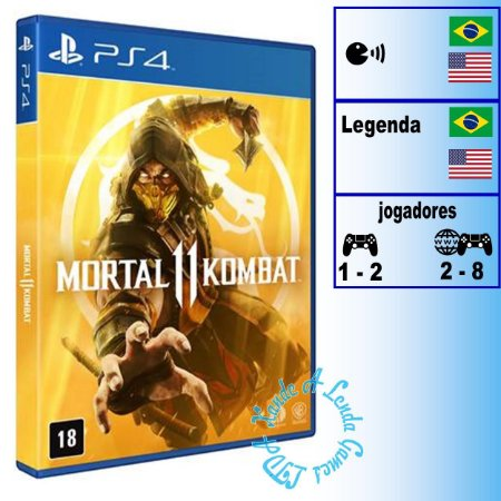 Mortal Kombat 11 - PS4 - Novo