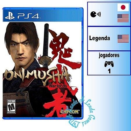 Onimusha Warlords - PS4 - Novo