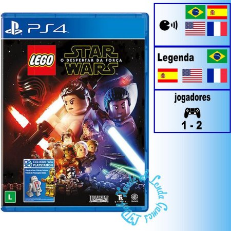 Lego Star Wars O Despertar da Força - PS4 - Novo