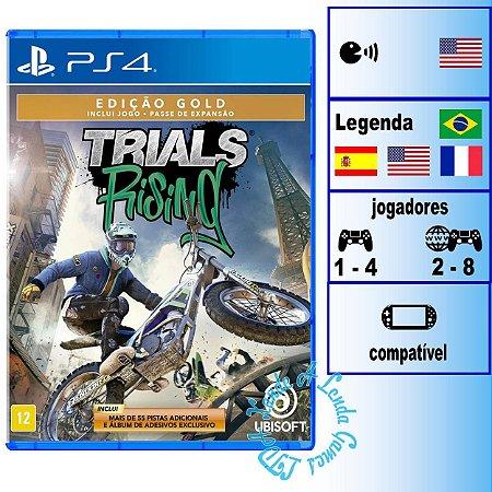 Trials Rising Edição Gold - PS4 - Novo