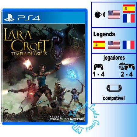 Lara Croft and the Temple of Osiris - PS4 - Novo