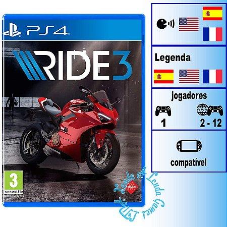 Ride 3 - PS4 - Novo