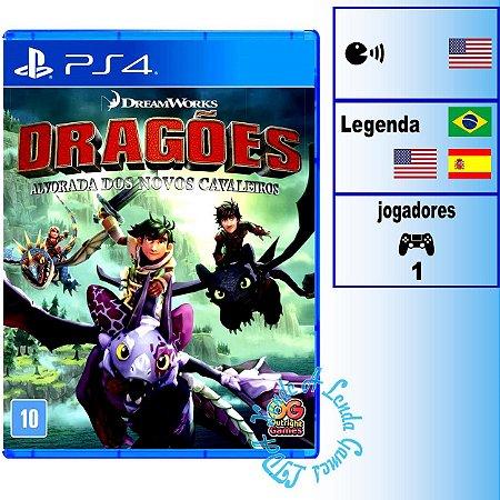 Dragões: Alvorada dos Novos Cavaleiros - PS4 - Novo