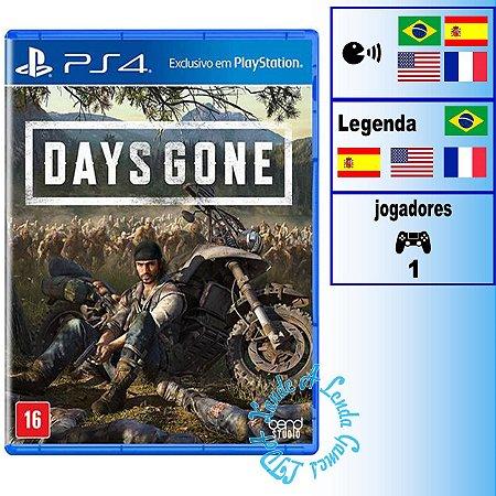 Days Gone - PS4 - Novo
