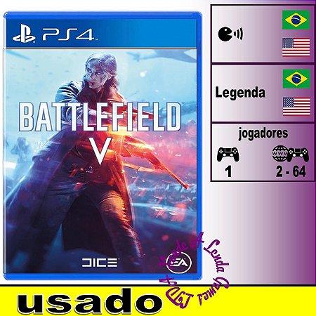 Battlefield V - PS4 - Usado