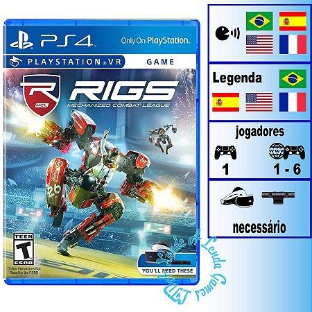 Rigs Mechanized Combat League - PS4 - Novo