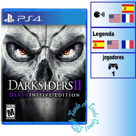 Darksiders II: Deathinitive Edition - PS4 - Novo