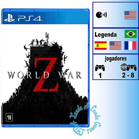 World War Z - PS4 - Novo