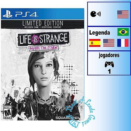 Life is Strange: Before the Storm Edição Limitada - PS4 - Novo