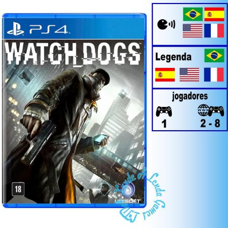 Watch Dogs - PS4 - Novo