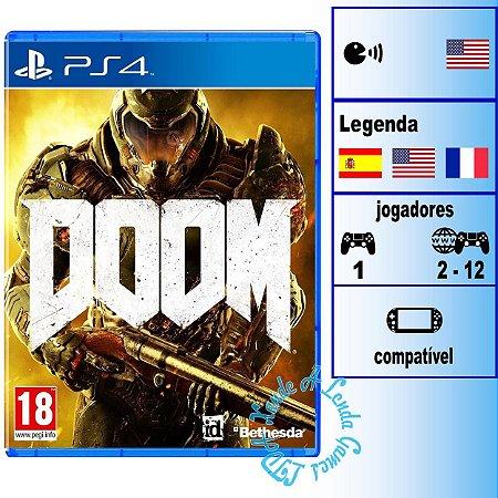 Doom - PS4 - Novo