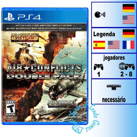 Air Conflicts Double Pack - PS4 - Novo