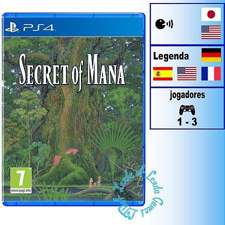 Secret of Mana - PS4 - Novo