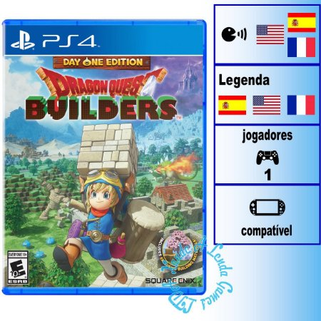 Dragon Quest Builders Day One Edition - PS4 - Novo