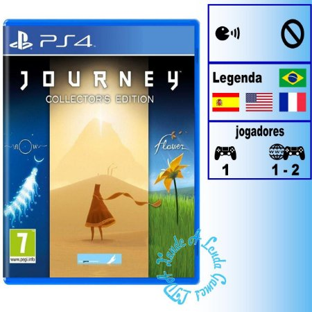 Journey Collector's Edition - PS4 - Novo
