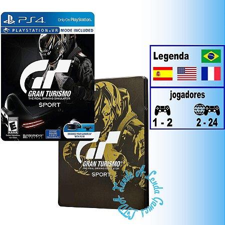 Gran Turismo Sport Steelbook Edition - PS4 - Novo