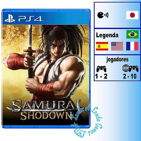 Samurai Shodown - PS4 - Novo
