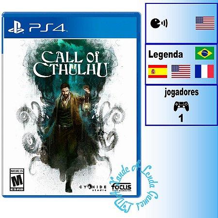 Call of Cthulhu - PS4 - Novo