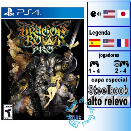 Dragon's Crown Pro Battle-Hardened Edition - PS4 - Novo