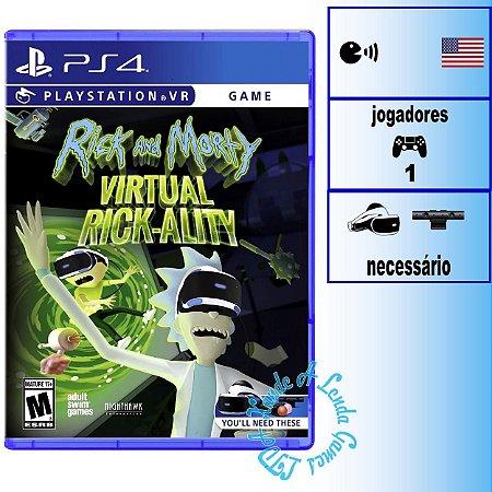 Rick and Morty Virtual Rickality - PS4VR - Novo